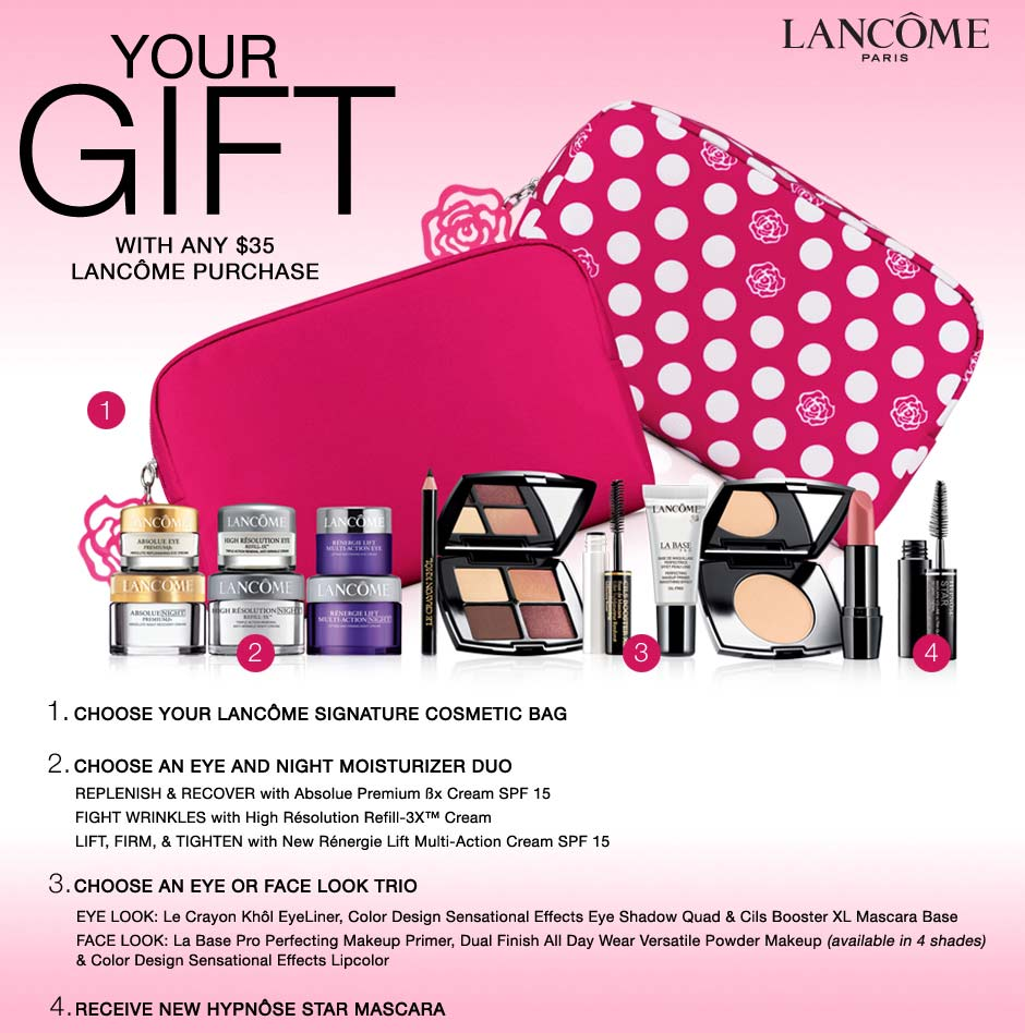 Estee Lauder Spring into Pink Gift with Purchase