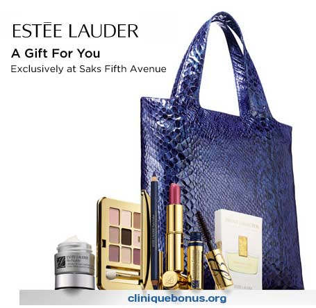 Estee Lauder Gift with Purchase (GWP) offers in December 2013