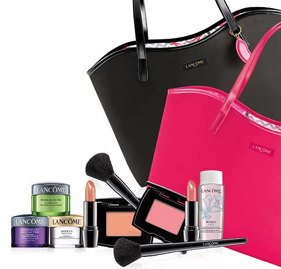 spend 35 or more now at belk online or in store and you can choose 4 of 6 items in your free lancome gift valued at up to 127