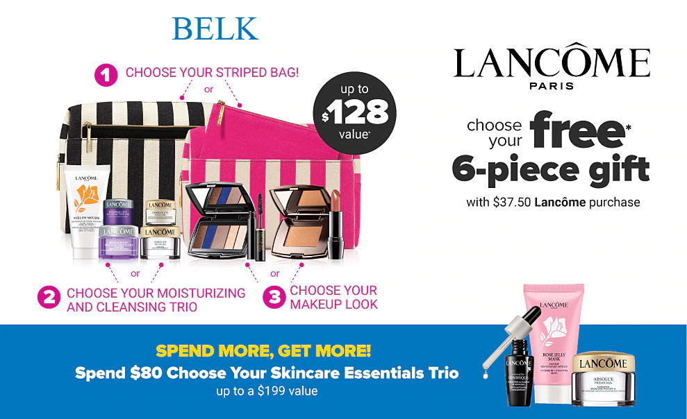 Get Lancome Free Gift With Purchase September 2020 PNG