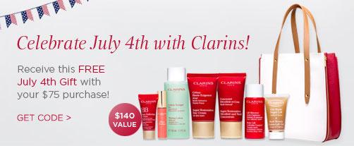 clarins-gift-code