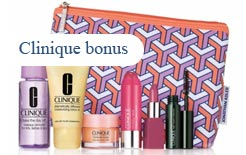 Clinique gift at Saks