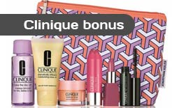 Clinique gift at Stage Stores