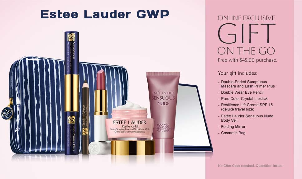 purchase directly from the estee estee lauder gift with purchase gwp