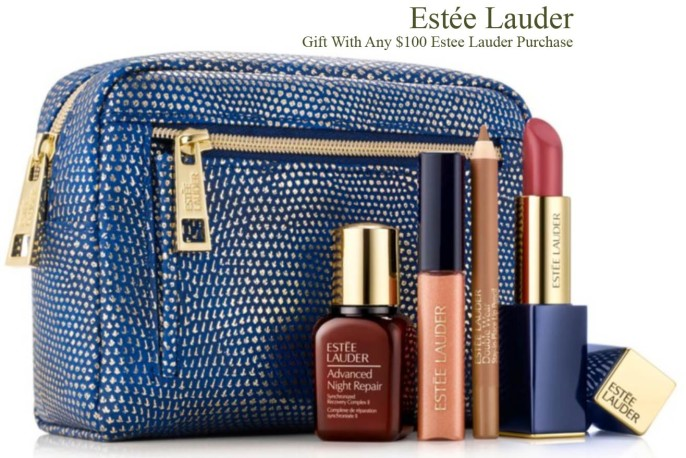Estee Lauder Gift with Purchase Offers (GWP) - Sep 2017