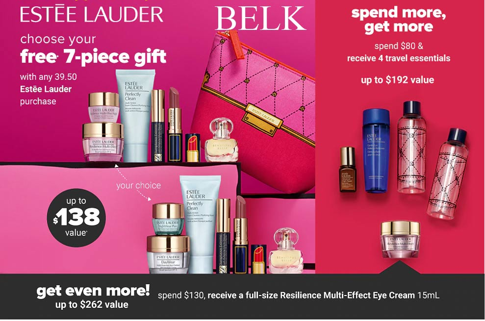 estee lauder free gift with purchase 2019