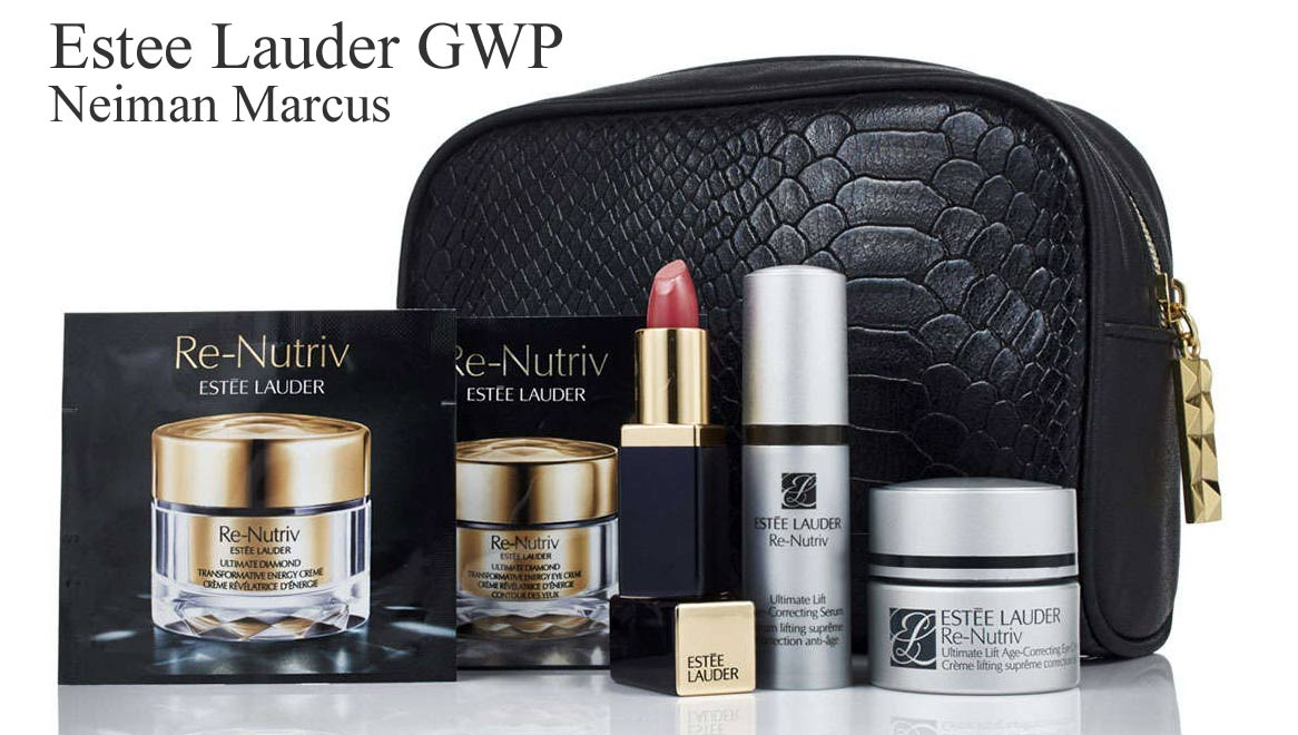 There is now a new Estee Lauder Gift with Purchase at Neiman fenixmu.ml and in store while supplies last with any $75 Estee Lauder purchase you will receive a free seven piece gift .