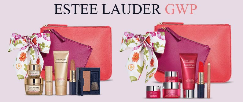 1079b47881d Every gift also includes an exclusive AMBA Living x Estee Lauder wristlet  duo with removable bow.