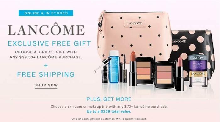 Macy's lancome promo code