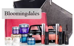 A Lancome GWP at Bloomingdales in March 2017