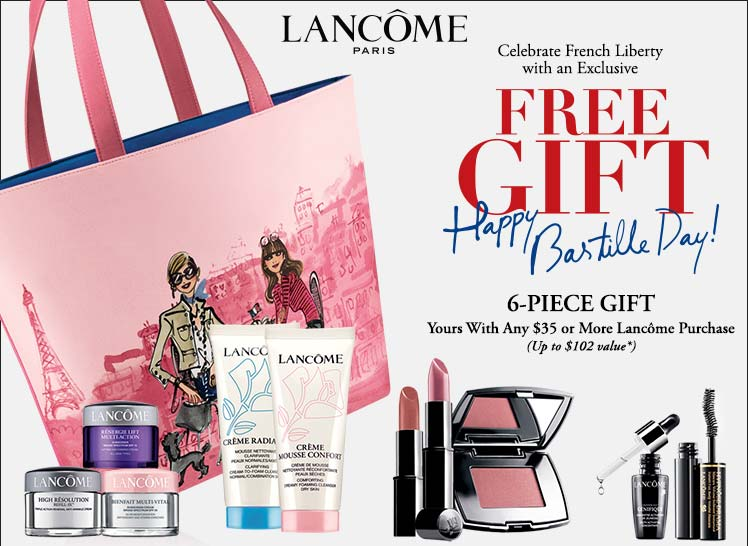 Image Gallery Lancome Gwp 2014