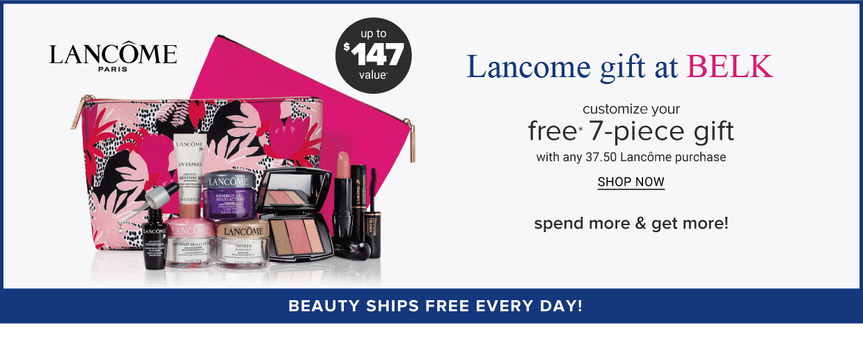 Lancome Gift With Purchase Offers Online In Stores October 2020