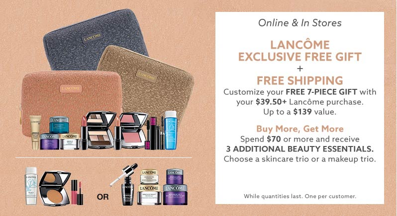 Lancome Gift With Purchase Dillards May 2018 | Lamoureph Blog