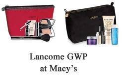 lancome gift at Macys July