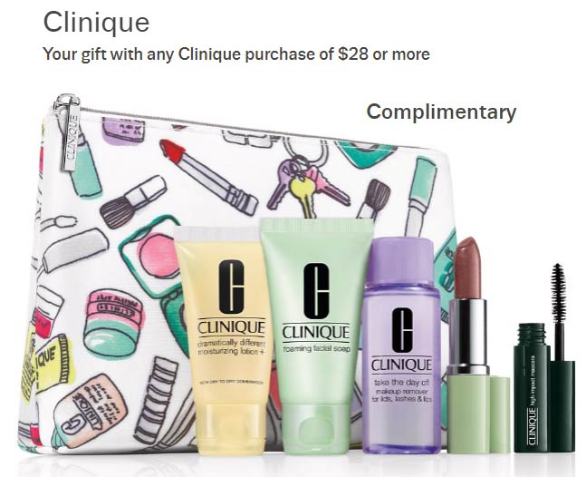 Taylor Gift: Purchase $28+ To Get Clinique Bonus Time Gifts