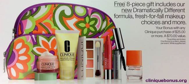 Clinique Bonus Time And Clinique Free Gift With Purchase  Download