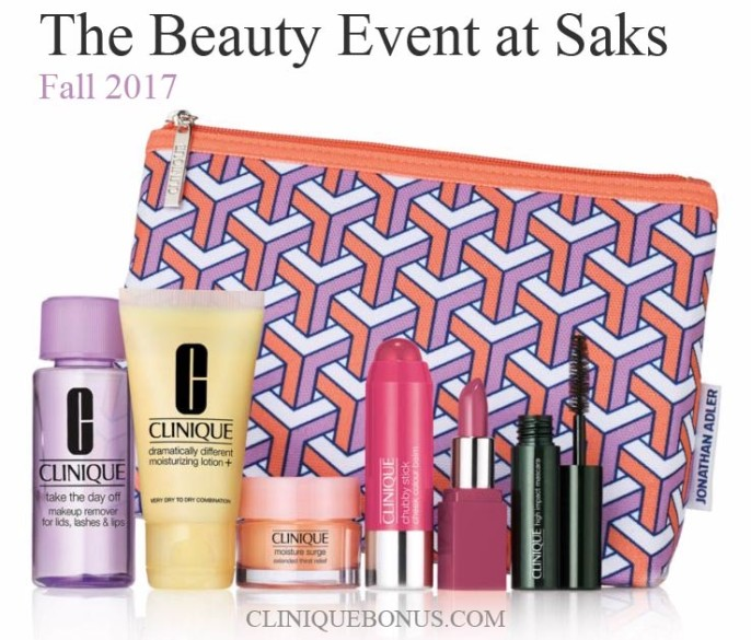 Purchase $28+ to get Clinique Bonus Time gifts | Sep 2017