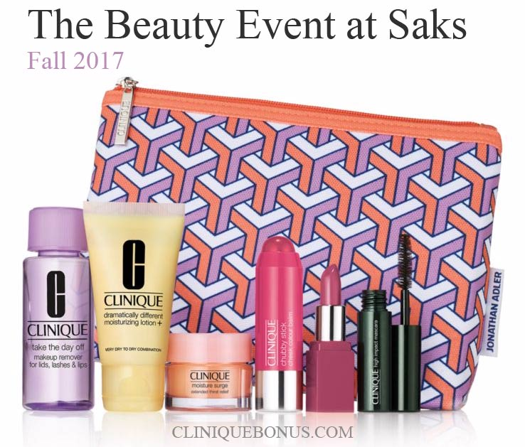 Purchase $29+ to get Clinique Bonus Time gifts | August 2018