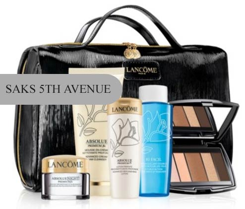 "Saks Fifth Avenue offers you to earn a gift card with purchase. $35 Gift Card with $+ purchase, $75 Gift Card with $+ purchase, $ Gift Card with $+ purchase, $ Gift Card with $+ purchase, $ Gift Card with $+ purchase. Use the code ""SEPT″ at checkout. The offer applies to Beauty as well."