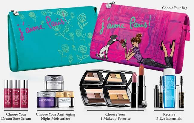 Lancome has a wide range of eye shadows, eyeliners, lipsticks and glosses, makeup