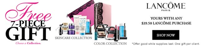 Lancome Gift with purchase (GWP) in November 2017
